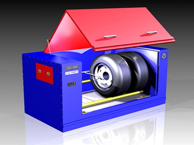 Lavadora de Ruedas LCE 2000 CF-RDA